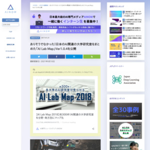 「AI Lab Map」Ver1.0.2