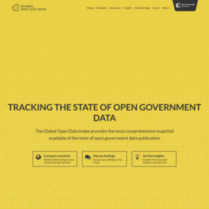 The Global Open Data Index
