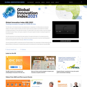 Global Innovation Index 2014