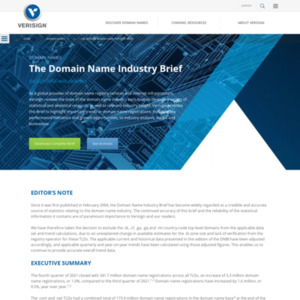 Domain Name Industry Brief 2014